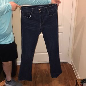 Size 18 American Eagle Flare Jeans